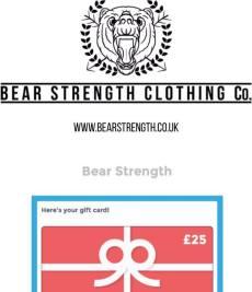 bear gift card.